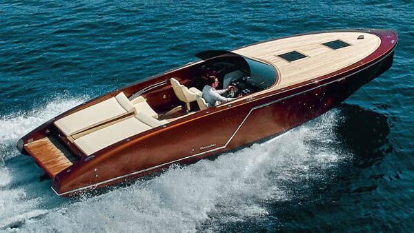 1017 GT Motorboot |Frauscher Bootswerft |von oben