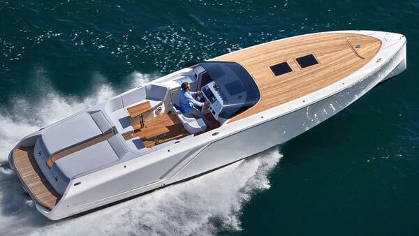 1212 Ghost Motorboot |Frauscher Bootswerft |von oben