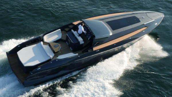 1414 Demon Motorboot |Frauscher Bootswerft |von oben