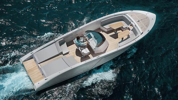 1017 GT Air Motorboot |Frauscher Bootswerft |von oben