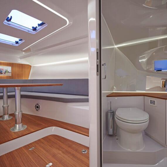 1212 Ghost Motorboot |Frauscher Bootswerft |Innenraum