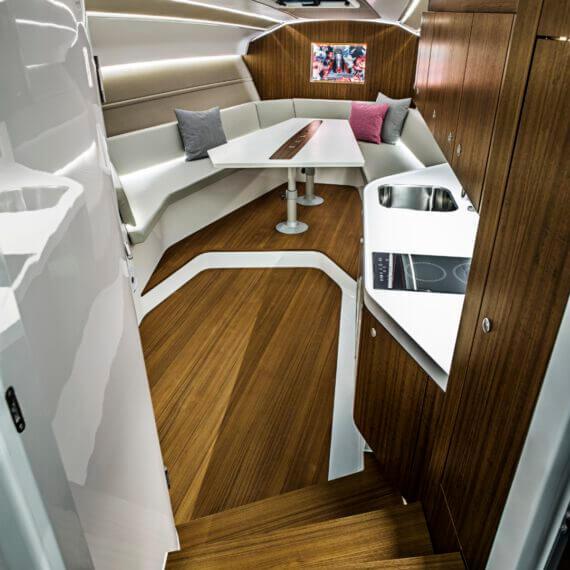 1414 Demon Air Motorboot |Frauscher Bootswerft |Innenraum