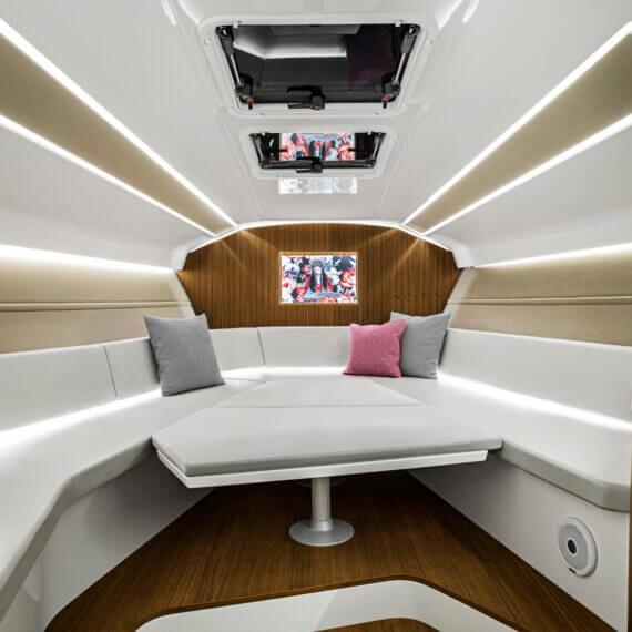 1414 Demon Air Motorboot |Frauscher Bootswerft |Lounge innen