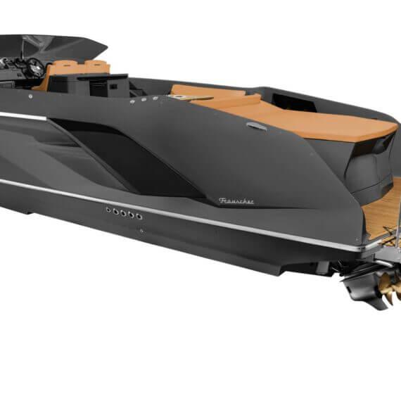 1414 Demon Air Motorboot grau |Frauscher Bootswerft |Motorboot