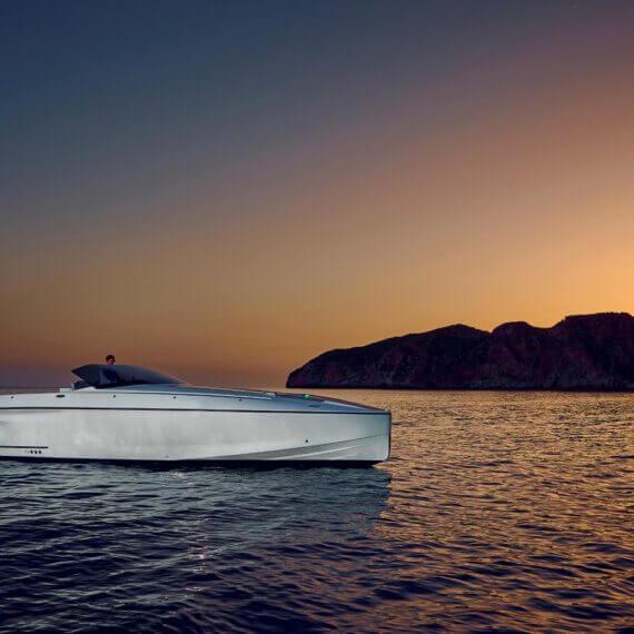 1414 Demon Air Motorboot |Frauscher Bootswerft |Sonnenuntergang
