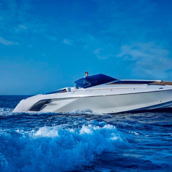 1414 Demon Air Motorboot |Frauscher Bootswerft |Fahrfoto 4