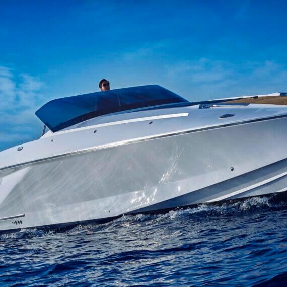 1414 Demon Air Motorboot |Frauscher Bootswerft |Fahrfoto 3