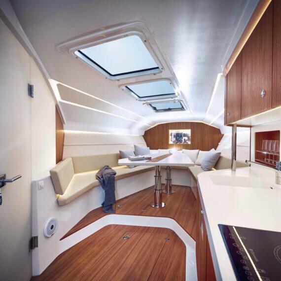 1414 Demon Air Motorboot |Frauscher Bootswerft |Innenraum 2