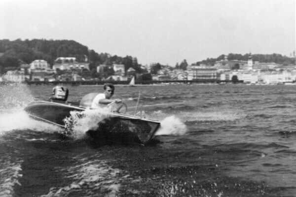 Frauscher Bootswerft Meilenstein 1963 | Motorboot Starfish