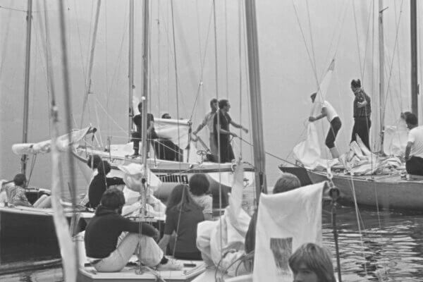 Frauscher Bootswerft Meilenstein 1966 | Gründung der Segelschule