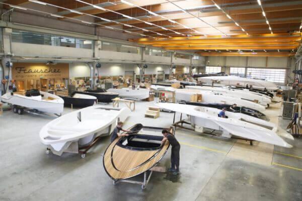 Manufaktur Frauscher Bootswerft |Produktionshalle 3