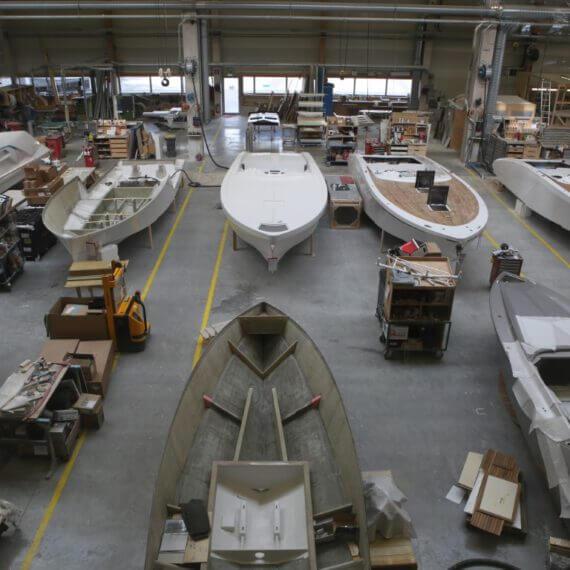 Manufaktur Frauscher Bootswerft |Produktionshalle