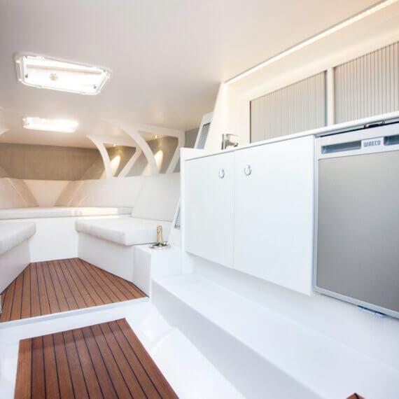 1017 GT Motorboot |Frauscher Bootswerft |Innenraum