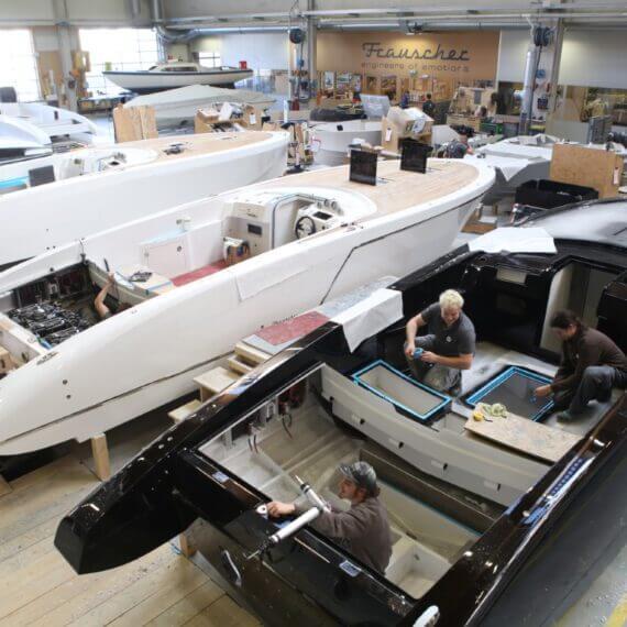 Manufaktur Frauscher Bootswerft |Produktionshalle 2