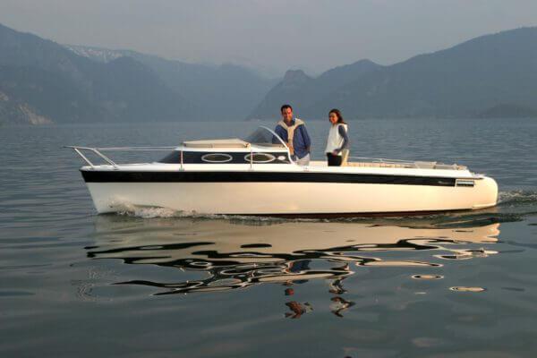 Frauscher Bootswerft Meilenstein 2000 | Elektroboot 707 Venezia