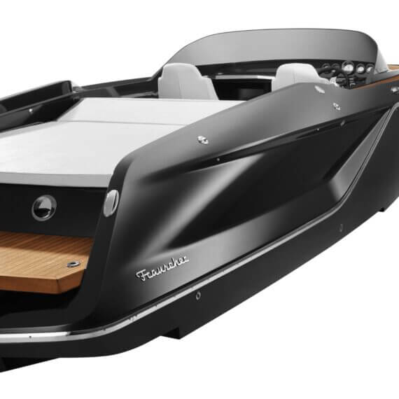858 Fantom Motorboot |Frauscher Bootswerft |Seitlich hinten