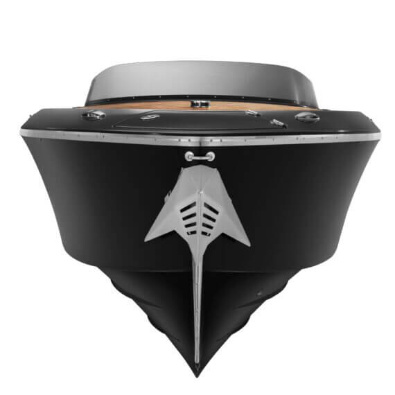 858 Fantom Motorboot |Frauscher Bootswerft |Frontansicht