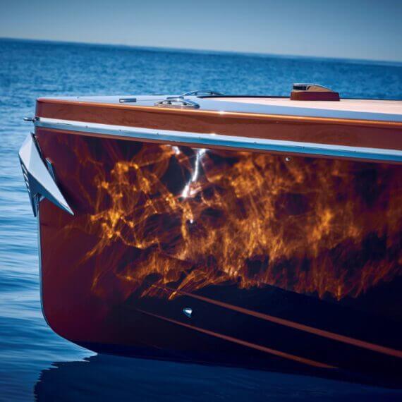 1017 GT Motorboot | Frauscher Bootswerft |Detail Bug