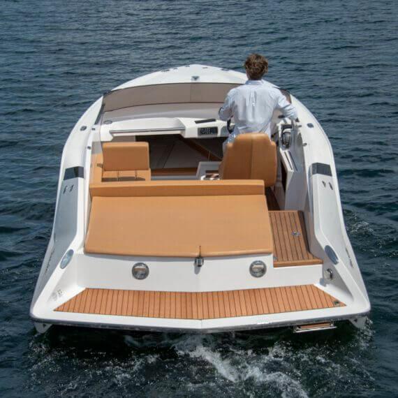 747 Mirage Motorboot |Frauscher Bootswerft | Heck 2