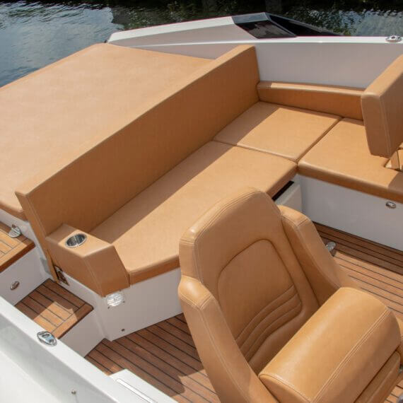 747 Mirage Motorboot |Frauscher Bootswerft | Lounge
