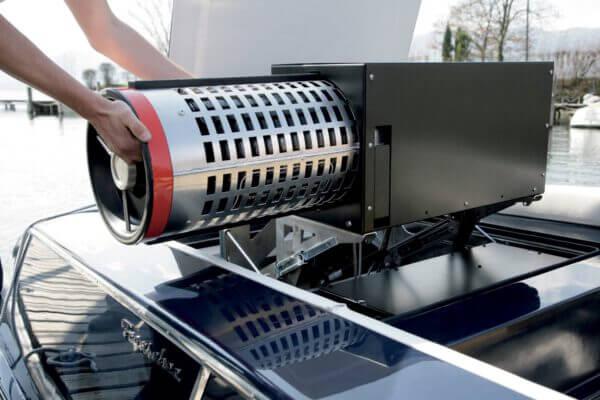 Details Wasserstoffantrieb | Frauscher Bootswerft