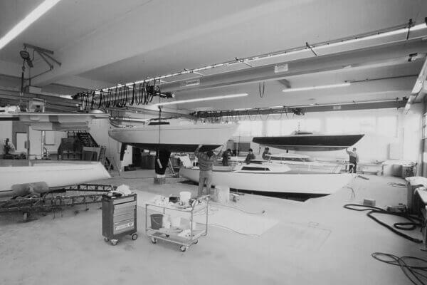 Frauscher Bootswerft Meilenstein 1976 | Produktion Moosham bei Gmunden