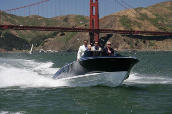 Frauscher Bootswerft Meilenstein 2008 |Weltweit erstes serienmäßiges Hybrid Sportboot