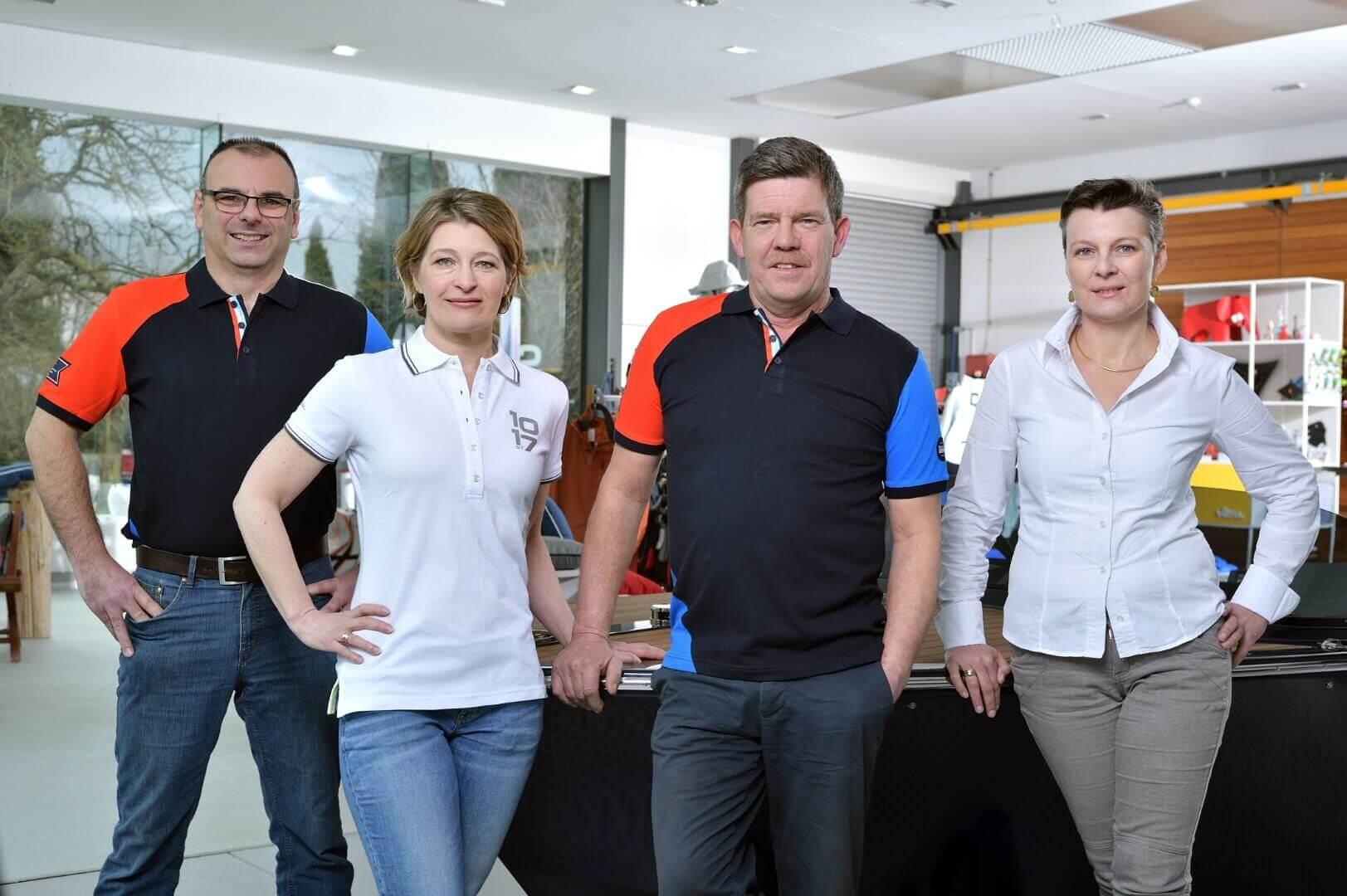 Teamfoto Frauscher Hafen