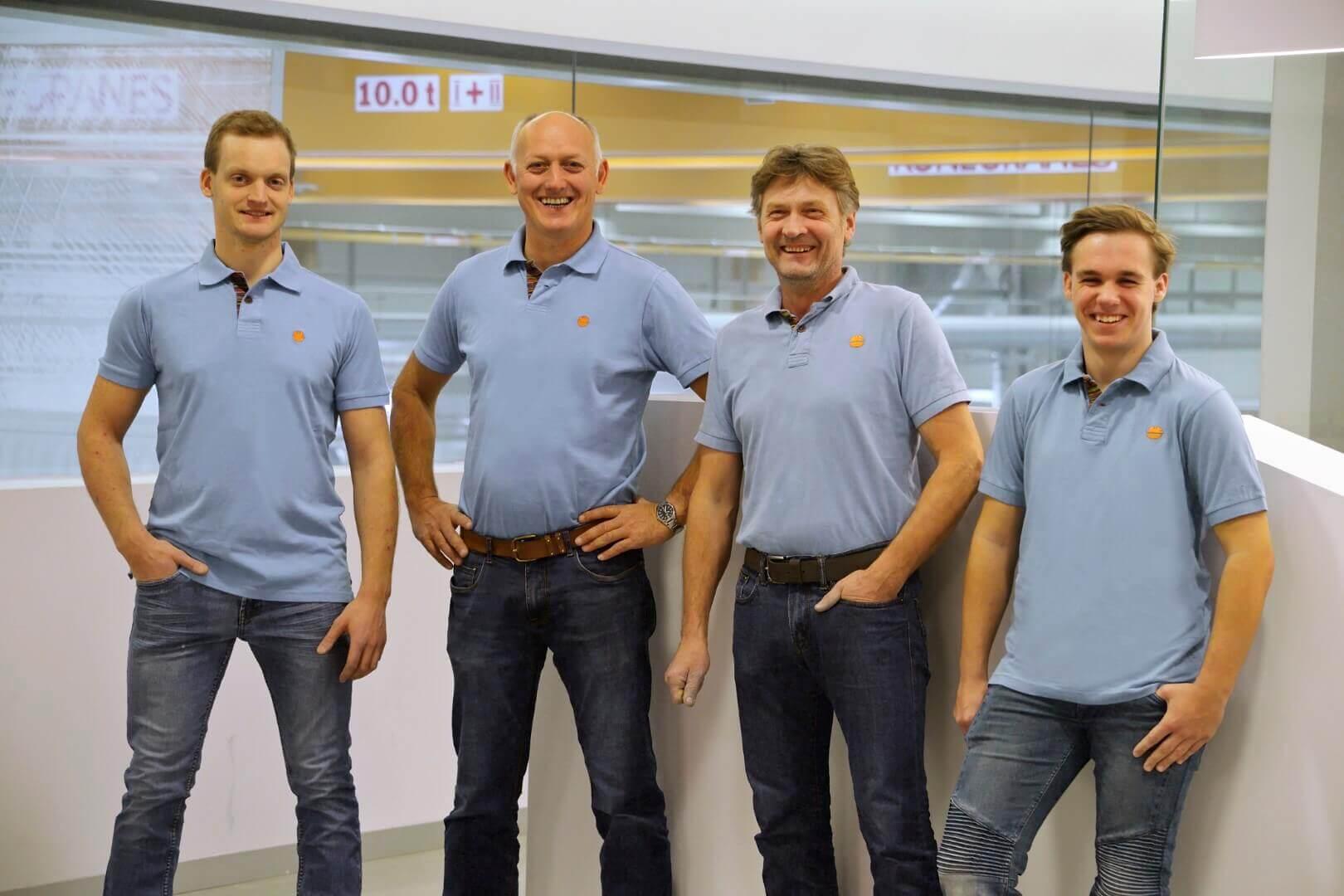 Teamfoto Frauscher Bootswerft Reparaturservice